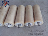 Alta resistenza all'usura del rullo di nylon e tenditore pesante di caricamento per il nastro trasportatore