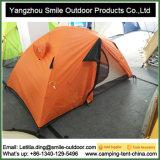 Ripstopのキャンプの雪のテントを滑らせるナイロン上の風のキャンバス