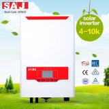 Inversores solares da Em-grade IP65 trifásica Integrated do interruptor da C.C. de SAJ 8KW para o sistema do armazenamento de energia
