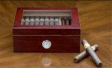 CY stellte Zeder hölzernen rauchendes Set-Kasten für Rauch her (25-50 Zigarren)