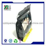 Costomzied a estampé le sac latéral de papier d'aluminium de gousset du joint 8