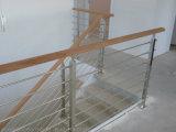 난간 7개의 층 직경 8mm 스테인리스 로드 또는 스테인리스 발코니 로드 방책