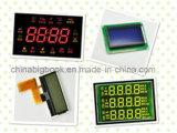 Écran LCD fait sur commande d'affichage à cristaux liquides de Tn pour la montre électrique