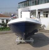 Barco de motor da fibra de vidro de China Aqualand 18feet 5.5m/barco pesca dos esportes/barco console Center/Panga (180)