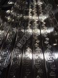 Pipe d'acier inoxydable d'or