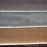 Auf Band aufgenommenes Veloursleder-Polyester-Ausgangstextilsofa-Gewebe mit T-/Cschutzträger