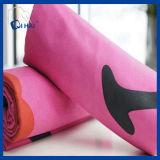 Toalla de secado rápido sólida de Microfiber del color rosado (QHQ88212)
