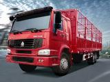 Carro del camión de Sinotruk HOWO 4X2/6X4/8X4, rectángulo/cerca/Van Cargo Truck