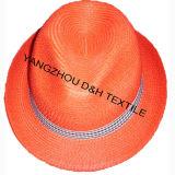 Chapéu de palha de papel de Fashional/chapéu de Sun/chapéu de Sunmer (DH-LH7212)