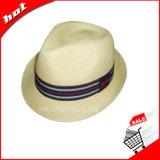 Chapéu de palha do chapéu de palha da arremetida do chapéu de palha do Fedora do chapéu de palha da promoção