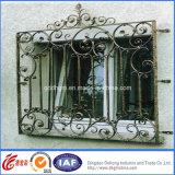 Frontière de sécurité décorative de fer travaillé de qualité de sûreté (dhfence-6)
