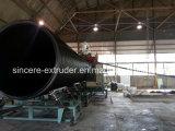 HDPE профилировал спиральн линию большой диаметр штрангя-прессовани трубы