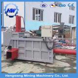 縦油圧出版物の小さい梱包機機械(製造業者)