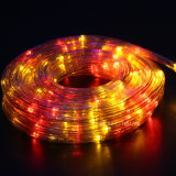LED 밧줄 빛을 바꾸는 결혼식 훈장 2 철사 색깔