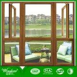 Двойное окно алюминиевого сплава форточки для Outwall