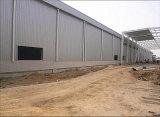 Edificio ligero del almacén de la construcción del marco de acero