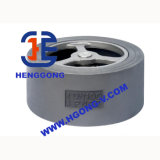 Válvula de Wafercheck da mola do aço de carbono de API/DIN/aço inoxidável
