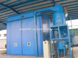 Grande macchina di granigliatura della cabina di brillamento di sabbia di prezzi