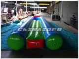 Glissière gonflable de tube des prix bon marché avec le mini syndicat de prix ferme à l'extrémité