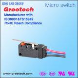10A 250V 5e4 Mikro-Begrenzungsschalter mit IP67