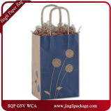 Покрашенные мешки подарка Eco покупателей Posies бумажные