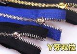 Chiusura lampo del metallo dei denti di buona qualità Y per il commercio all'ingrosso