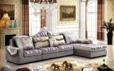 新しく標準的な高品質の居間ファブリックソファー2162A
