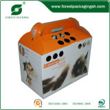 Handle를 가진 주문 Rectcled Pet Packing Box