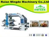 Vier-Farbe flexible Drucken-Maschine, Plastikdruckmaschinen, China