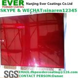 Transparent Red Topcoat Powder Coating
