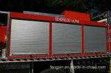 Obturateur en aluminium de rouleau pour le camion de pompiers
