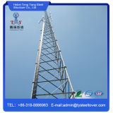 Гальванизированная сталью башня антенны угла стальная для телекоммуникаций