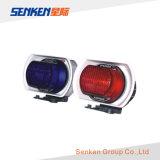 Senken una garanzia 12V di anno impermeabilizza l'indicatore luminoso d'avvertimento del motociclo LED con l'altoparlante della sirena
