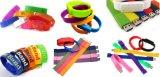 Fation 로고 인쇄를 가진 다채로운 팔찌 USB 섬광 드라이브