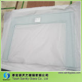 Silk Screen Printing를 가진 Microwave Oven를 위한 3.2 Mm Clear Toughened Float Glass Panel