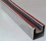 """Tubo della scanalatura a """"u""""/U del tubo dell'acciaio inossidabile U di 300 serie"""