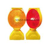 소통량 바리케이드 램프 태양 LED 스트로브 경고등 도로 안전