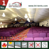 500 مقادة [15إكس20م] ألومنيوم إطار بنية خيمة لأنّ كنيسة في نيجيريا