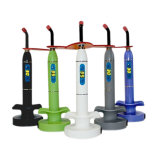 Dental coloré 5W Wireless Cordless DEL Curing Light