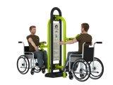 Equipo Handicapped de la gimnasia de la máquina al aire libre del ejercicio