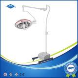 Soporte móvil del Hospital de la sala de operación con las luces de la batería (ZF700)