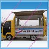 Heiße verkaufenstraßen-Nahrungsmittelverkauf-Karre mit TUV