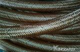 Mangueira de borracha hidráulica reforçada fibra de 1 polegada (SAE100 R6)