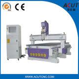 máquina de grabado de madera del CNC de la puerta de la cabina 3D (ACUT-1325)