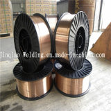 0.6mm bis 1.6mm CO2 Gas Shield das Kupfer-Coated Solid MIG Welding Wire Er70s-6