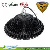 Het gieten Jaar van de Garantie van de Baai van het UFO van de Huisvesting Hoge Lichte 100W IP65 5