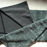 Tela de Chenille del telar jacquar del poliester con el hilado teñido