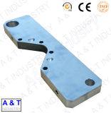 CNC Basis van het Aluminium van het Deel van de Delen van de Machine van de Precisie van de Douane CNC Machinaal bewerkte