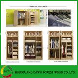 خشب ييصفّي خزانة ثوب مع تصميم حديثة