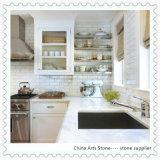Controsoffitto di marmo della cucina di bianco del classico 2016